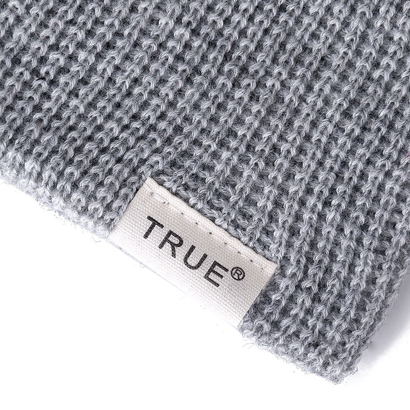 New 11 Colors Letter True Casual Beanies for Men Women Girl Boy Fashion Knitted Winter Hat Solid Hip-hop Skullies Hat Unisex Cap 4