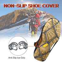 2pcs Snow-skid shoe cover walking traction splint shoe cover splint walking non-slip ice grip snow grip TPE material 30D11