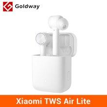 원래 Xiaomi Mi 진정한 무선 이어폰 라이트 TWS 블루투스 이어폰 헤드셋 에어 라이트 스테레오 AAC 탭 컨트롤 듀얼 마이크 ENC BT 5.0