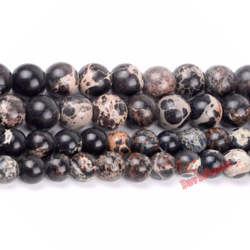 70 Two-Tone Matt Coated Round Beads; Size 10mm