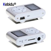Mini müzik çalar USB klip dijital MP3 oyuncu LCD ekran ekran desteği 32GB mikro SD TF kart FM radyo