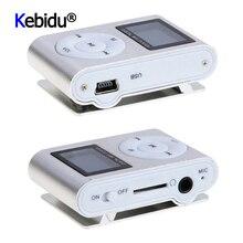 מיני מוסיקה נגן USB קליפ דיגיטלי MP3 נגן LCD מסך תצוגת תמיכה 32GB מיקרו SD TF כרטיס FM רדיו