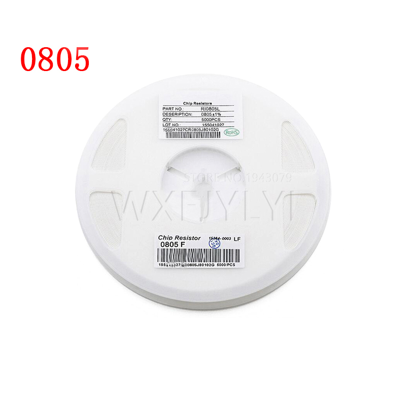 300 шт. 0805 SMD резистор 150 Ом 1/8 Вт 150R 151 новый оригинальный