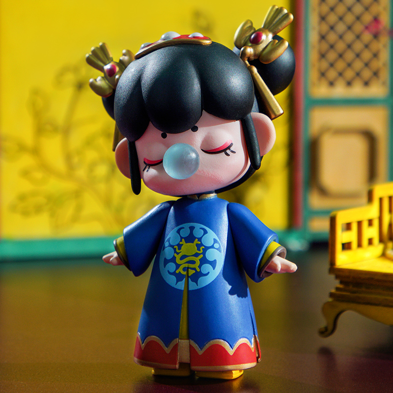 Robotime Nanci Blind Box China Style Character Model Action Figure for Girls Birthdays Gift(China)