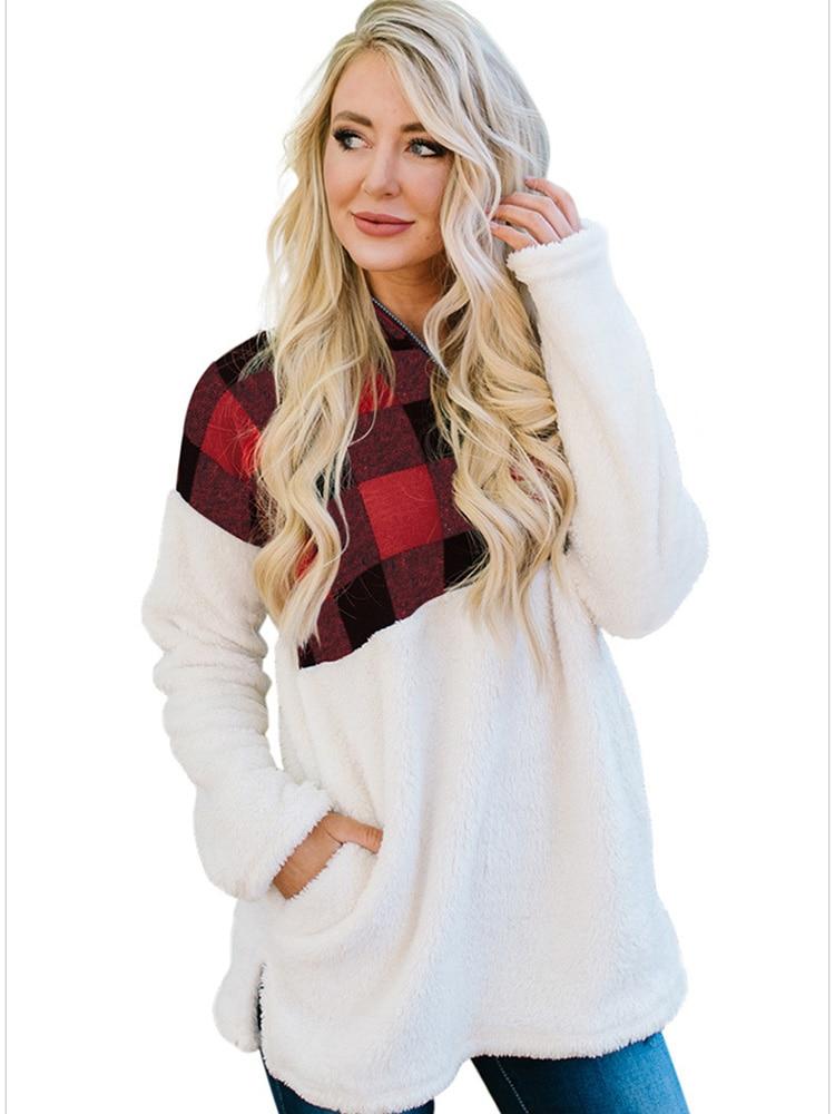 Survêtement Style coréen sweats pour femmes pull esthétique avec fermeture éclair hiver concepteur mode à manches longues décontracté manteau ample