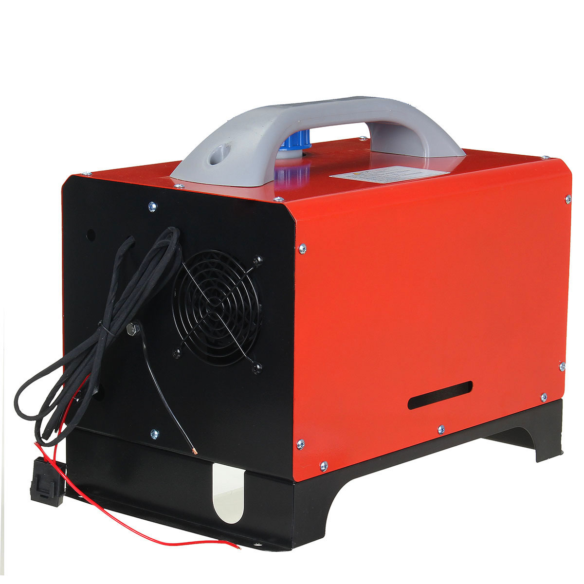 Image 5 - All In One 8000W Mini Diesel Air Heater 8KW 12V One Hole Car Heater For Trucks Motor Homes LCD /Button Remote New Arrival 2019Heating & Fans   -