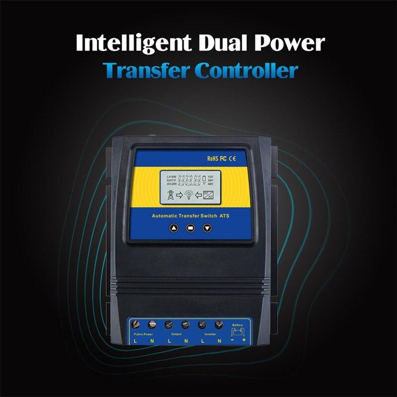 Controlador de carga solar do interruptor de