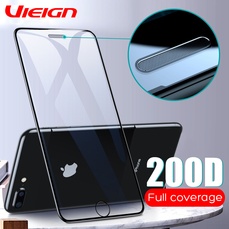 200D Tempered Glass For IPhone 11 8 7 6 Plus X XS MAX Glass Iphone 11 Pro MAX Screen Protector Protective Glass On Iphone 11 Pro