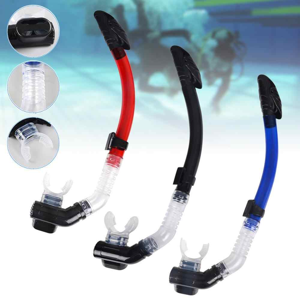 Silicone Wet Breathing Tube Snorkeling Snorkel Diving Scuba Swim Equipment