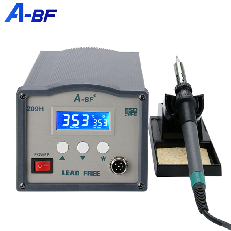 A-BF High Frequency Soldering Station Quick 250W Digital Rework Station 220V BGA ESD Lead Free Welding Tool Kit 203H 205H 209H