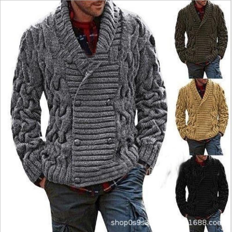 2019 Men's Wear Men Cardigan Sweater 0019#5