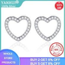 Yanhui Оригинальные 925 Серебряные предотвращающие аллергию