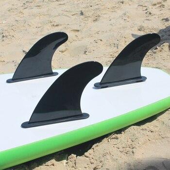 Surf FCS Soft Fin Black SUP Board Fins Surfing Tri High quality
