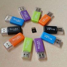 Высокоскоростной мини USB 2,0 Micro SD TF T Flash Card Reader адаптер для ПК ноутбука Usb кардридер