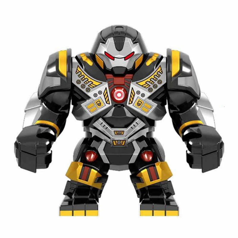2019 Marvel Avengers Endgame Super Heroes Iron Man War Machine Buster Mech Armor Figures Building Blocks Bricks Kids Toys Gift