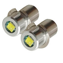 2X P13.5S قاعدة LED ترقية لمبة ل Maglite استبدال لمبات تحويل عدة ل C/D مشاعل الشعلة 3 فولت 24 فولت تيار مستمر 3 فولت 4.5 فولت 6 فولت 18 فولت