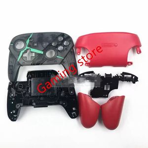 Image 2 - made in chin NS SWITCH PRO game pad controller handle DIY plastic housing shell case replacement with stand