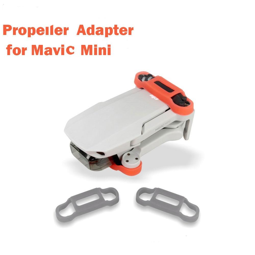 New Mavic Mini Silicone Propeller Holder Fixed Stabilizers Protective for DJI Mavic Mini Drone Accessories(China)