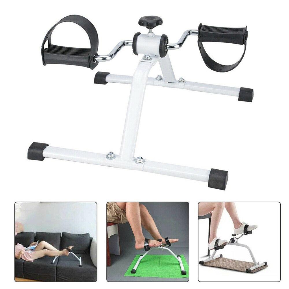 Мини велотренажер с регулируемым сопротивлением, кресло, педаль для ног, реабилитация, для дома, для велоспорта, для тренировок, для тренаже