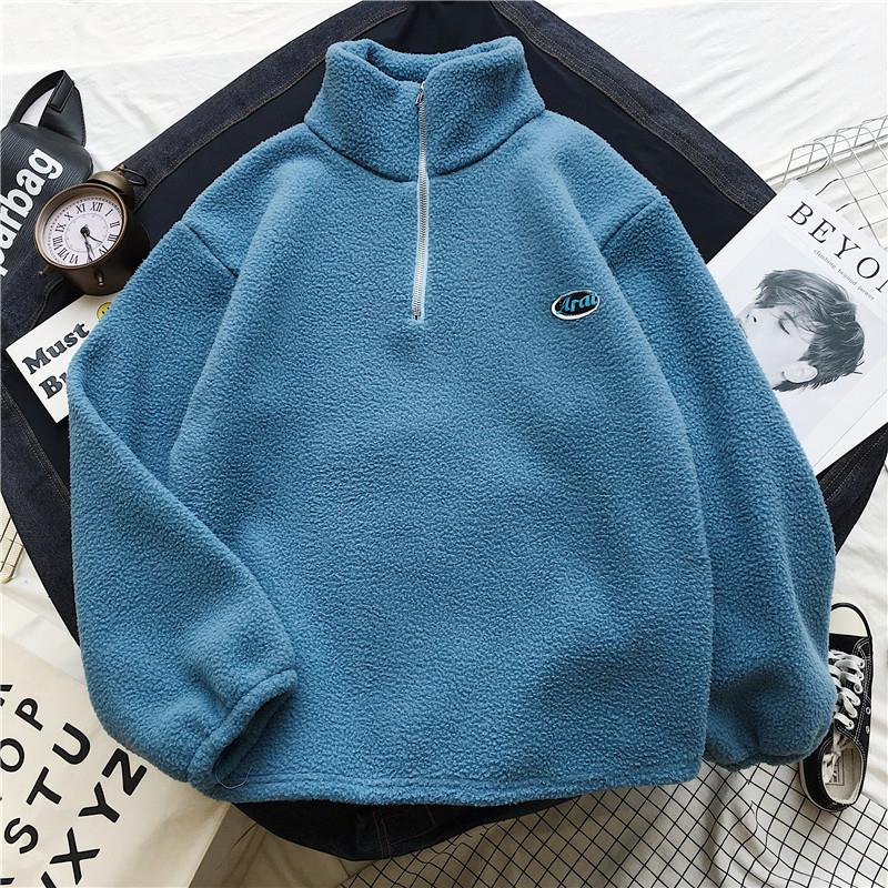 2020 Spring Sweatshirt Plus Size Women's Hoody Lambswool Women's Sweatshirt Turtleneck Autumn Korean Style Sweatshirts Women
