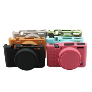 Image 2 - Draagbare Zachte Siliconen Camera Case Voor Sony RX100M3 RX100M4 RX100M5 RX100 Iii RX100 Iv RX100 V Tas Beschermende Camera Accessoire