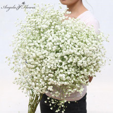 Big bunch baby breath dried flowers artificial fake flower Gypsophila bouquets home garden Christmas decor Valentine's Day gifts