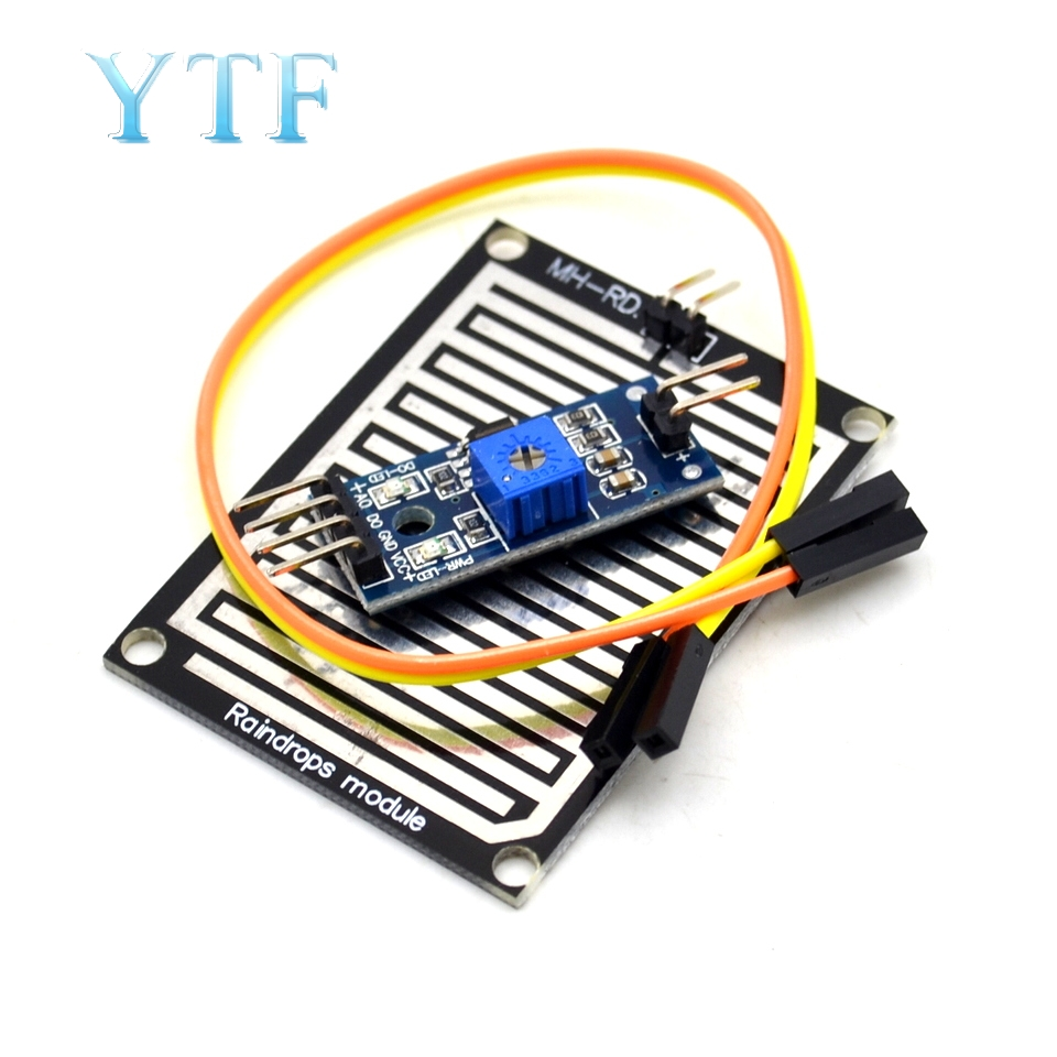 Snow/Raindrops Detection Sensor Module Rain Weather Module Humidity