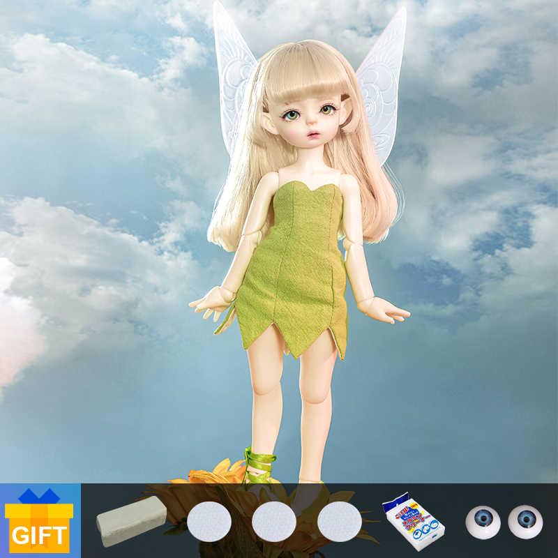¡Novedad! Muñeca bjd Shuga Fairy Soo, oreja de elfo 1/6, conjunto completo articulado, maquillaje profesional, regalo de cumpleaños para chica
