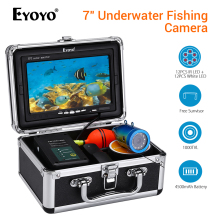 Eyoyo WF07 Fish Finder Underwater Fishing Camera peche 7 Video camera fishing DVR Infrared Lamp ICE fischfinder