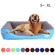 Pet Sofa Dog Beds Waterproof Bottom Soft Fleece Warm Cat Bed House Indoor for Small Medium Dogs Cats