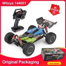 Wltoys 144001 1/14 2.4G Racing RC Car 4WD szybki pilot modele pojazdów zabawki 60 km/h zapewnienie jakości dla dzieci