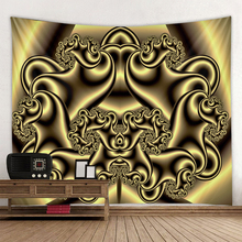 Beautiful 3D abstract illusion print large wall tapestry cheap hippie wall hanging bohemian wall tapestry mandala wall art decor wall hanging art decor corroded wall print tapestry