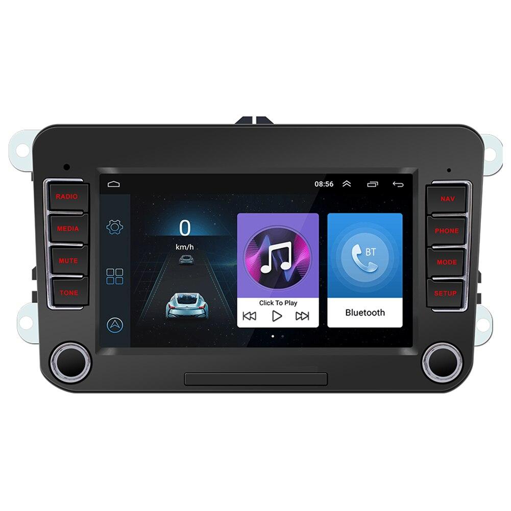 Для VW Android 10,0 Автомобиль Радио 7 дюймов мультимедийный видеоплеер Bluetooth GPS навигацией, Wi Fi, Авто Радио стерео Автомобильные радиоприемники      АлиЭкспресс