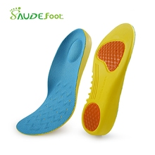 Orthopedic Shoes Insoles Stretch Breathable Shock Absorption Running Cushion Insoles Shoes Pads Sport Shoes Inserts