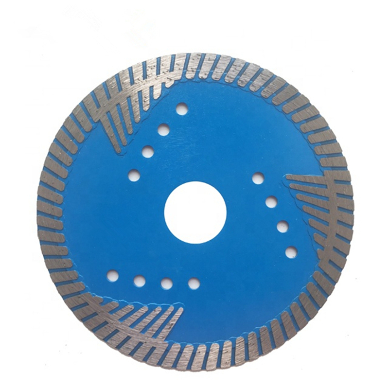 DB62 Factory Directly Supply Granite Cutting Tools Diamond Turbo Saw Blade Turbo Segment Dry Cutter For Angle Grinder 10PCS