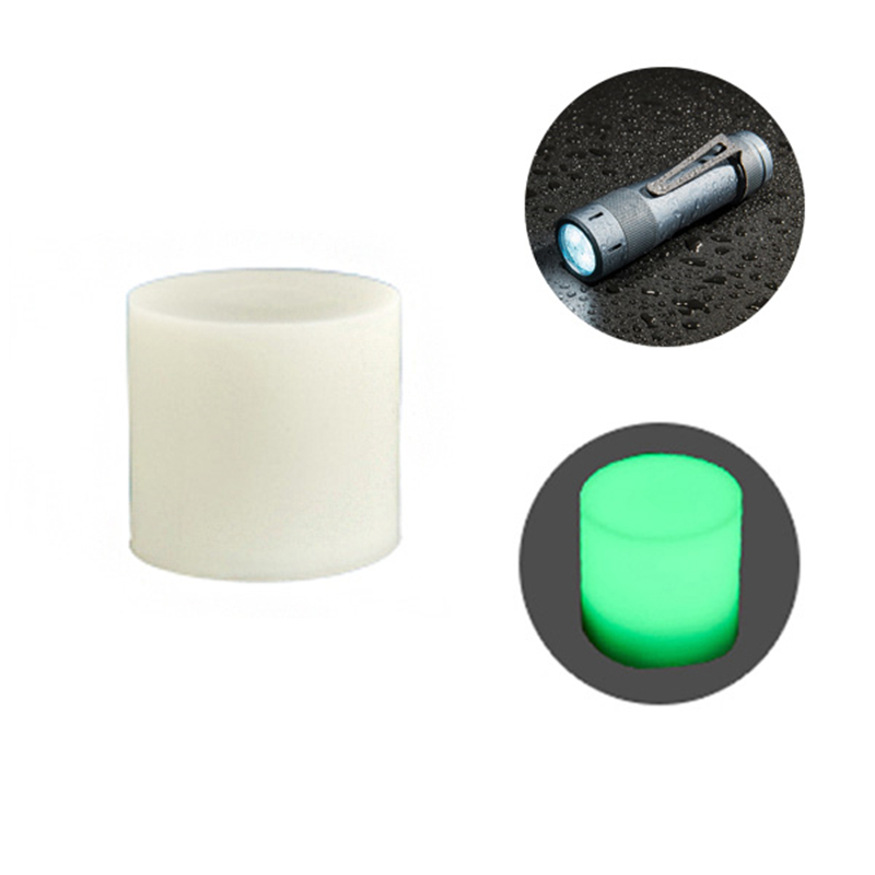Lumintop Rubber Diffuser For Lumintop FW21/EDC18 Flashlight Singnal Light Reading Lamp Rubber Lampshade Lantern Cover Torch