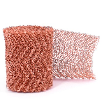 Filtre rouge de maille de cuivre, emballage de colonne, filtre tissé d'écran de fil pour la Distillation, largeur 10cm, longueur 1-5m, diamètre 0.15mm