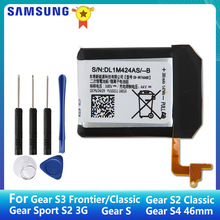 SAMSUNG Original Battery EB-BR760ABE For Samsung Gear S3 Frontier R760 SM-R765 S2 3G Classic SM-R720 Gear S SM-R750 Gear S4 46mm