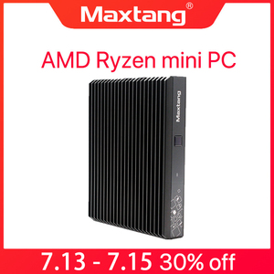 AMD Ryzen Мини ПК 2500U игровые компьютеры nuc Linux Windows 10 USB-C HDMI DP WiFi