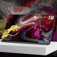 Tablet PC 6G + 128GB nuevo 2021 de 10,1 pulgadas completa Netcom Ultra-delgada pantalla grande juego de aprendizaje Zhuo teléfono 4G Tablet PC