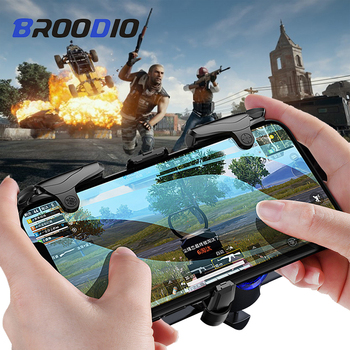 PUBG Mobile Gamepad Button Shooter Controller Gamepad Fire Button L1R1 Shooter Joystick For Smartphone Gaming Trigger Controller фото