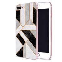 case iphone 5 Geometric Marble Case for Apple iphone 11 Pro X XS Max XR 7 8 6 6S Plus + 5 S SE 5C Silicone Carcasa Phone Coque Cover (5)