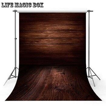 Caja Mágica DE LA VIDA tablero de madera marrón oscuro Elmo fiesta Rosa Fondo estético escenario Fondo suelo-444