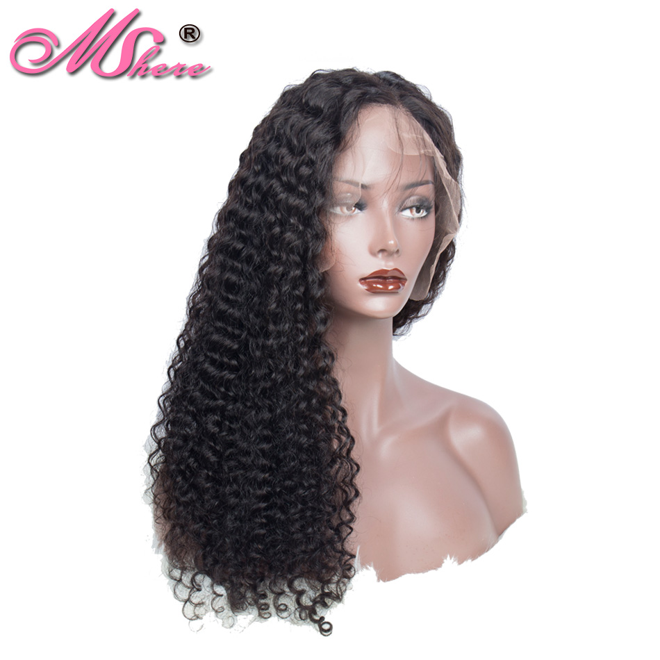 Lace Frontal Human Hair Wig 13X4 Brazilian Remy Hair Deep Wave Human Hair Wig For Black Women Pre Plucked Lace Front Wigs