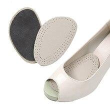 Толстая мягкая обувь на высоком каблуке; стельки из воловьей кожи; противоскользящие половинчатые стельки; стелька из воловьей кожи; обувь для мужчин и женщин