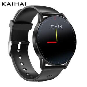 Image 1 - KaiHai Đồng hồ thông minh Android Dây đồng hồ thông minh Smart Smartwatch đo nhịp Tim theo dõi Sức Khỏe đồng hồ bấm giờ điều khiển Âm Nhạc dành cho điện thoại Iphone