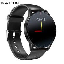 KaiHai الساعات الذكية أندرويد ساعة ذكية smartwatch رصد معدل ضربات القلب الصحة المقتفي ساعة توقيت الموسيقى التحكم للهاتف آيفون