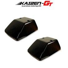 Kaizen couvercle de clignotant avant noir brillant, 2 pièces, pour Mercedes Benz W463 classe G G500, G550, G55, G63, G65 de 1986 à 2018