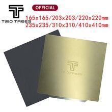جديد ترقية إزالة زنبركي لوح فولاذي مطبق مسبقًا PEI + قاعدة مغناطيسية 220/235/310 مللي متر لطابعة إندر 3 CR 10 إندر 5 ثلاثية الأبعاد Hot Bed
