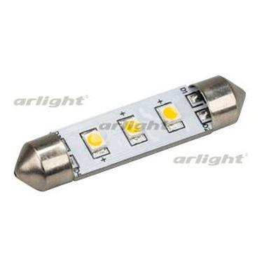 019424 Auto Lamp Arl-f42-3e Warm White (10-30V, 3 Led 2835) Arlight Package 1-piece
